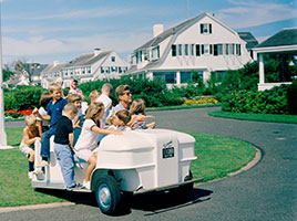 JFK in Hyannis Port. Link to Gifts of Real Estate