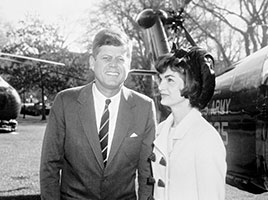 Photo of John F. and Jacqueline Kennedy. Link to Gifts That Pay You Income